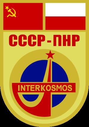 Mirosław Hermaszewski - Image: Soyuz 30 patch