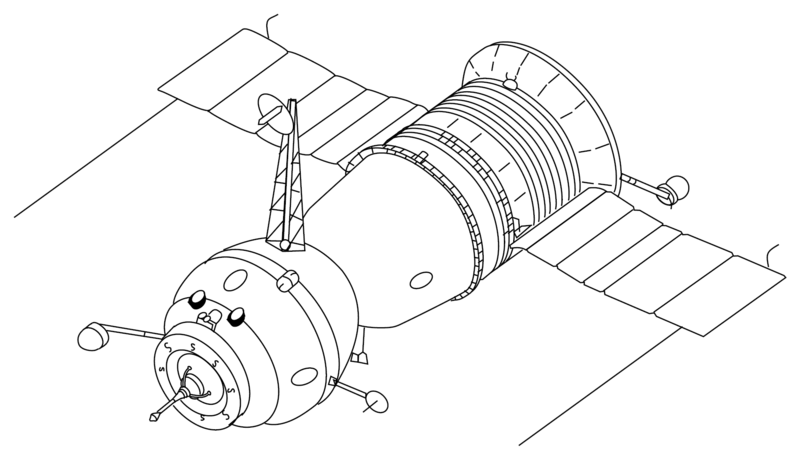 Filesoyuz 7k T 3 Seats Drawing