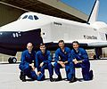 Space Shuttle Approach and Landing Tests crews - cropped.jpg
