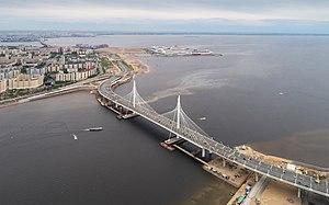 Spb 06-2017 img46 ZSD bridge at Krestovsky Stadium