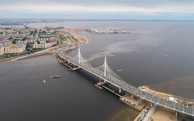 Spb 06-2017 img46 ZSD bridge at Krestovsky Stadium.jpg