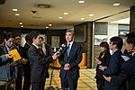 Special Rep for North Korea Policy Kim Addresses the Media in Tokyo - Flickr - East Asia and Pacific Media Hub (2).jpg
