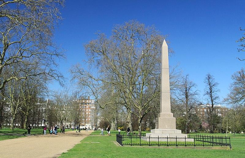 File:Speke's Monument in the Kensington Gardens, London 2013 (6).JPG