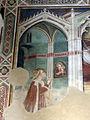 Spinello aretino, s. caterina orante e matrimonio mistico 02.JPG