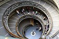 Spiral staircase in the Vatican Museums 2011 04.jpg