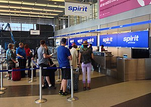 Spirit Airlines - Spirit Airlines Check In At O'Hare International Airport