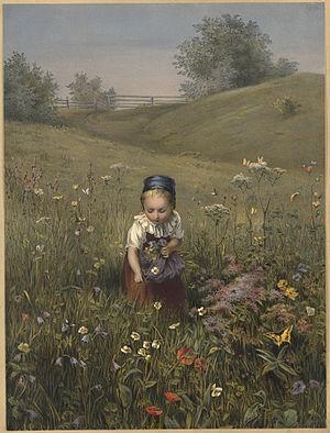 Frühlingslied, WAB 68 - Spring Flowers by Ludwig Knaus