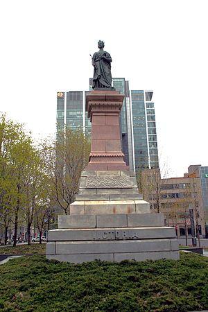 Monarchy in Quebec - Image: Square Victoria