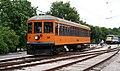 St. Louis Waterworks Railway car 10 operating at the Museum of Transportation (2017).jpg