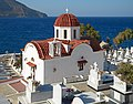 St. Nicholas Church in the Pigadia cemetery. Karpathos, Greece.jpg