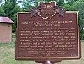 St. Philip Neri (Dungannon, Ohio) Historical Marker 2012-07-14.JPG
