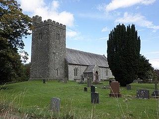 Saint Afan 6th century Welsh saint