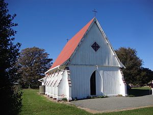 Appleby, New Zealand - St Alban's Anglican church