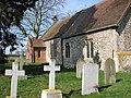 St Andrew's church - churchyard - geograph.org.uk - 1764818.jpg