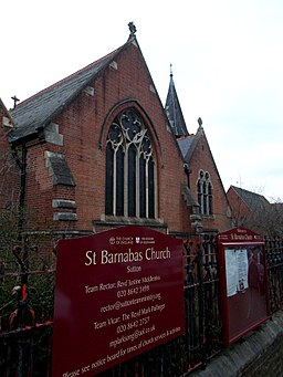 St Barnabas Church, SUTTON, Surrey, Greater London