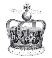 5afb6e8216e5 St Edward s Crown as it looked at the coronation of James II of England in  1685