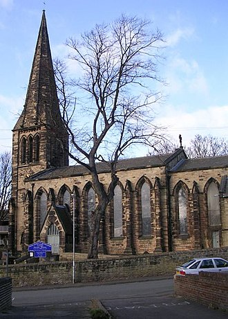 Heckmondwike - St James's Church (Church of England)
