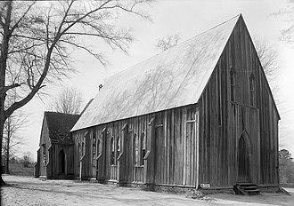 Cahaba, Alabama - Image: St Lukes Episcopal Martins Station 1