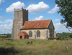 St Mary's Church, Letheringham - geograph.org.uk - 860499.jpg
