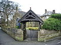 St Mary's Church, Oswaldtwistle, Lychgate - geograph.org.uk - 717398.jpg