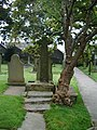 St Mary's and All Saints Church, Whalley, Celtic Cross 1 - geograph.org.uk - 578626.jpg