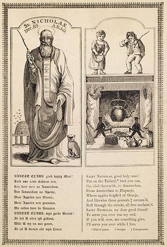 John Pintard - St. Nicholas by John Pintard (1810)
