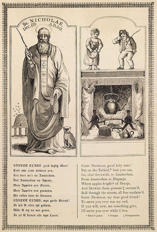 St Nicholas by John Pintard (1810)