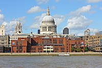 St Paul's Cathedral and the City of London School.jpg