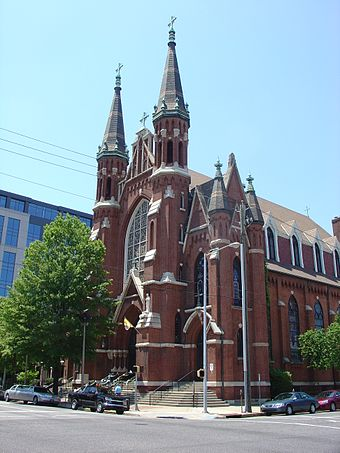 St. Paul's Cathedral in downtown Birmingham St Paul 05.jpg