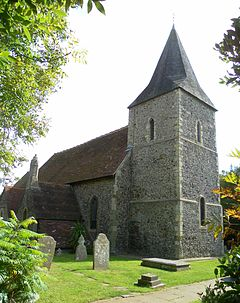 St Peter's Church, East Blatchington (NHLE Code 1044020).JPG