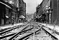 St Stephen's Norwich, laying tramlines.jpg