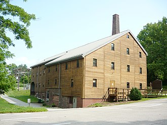 St. Vincent Archabbey Gristmill - St. Vincent Archabbey Gristmill