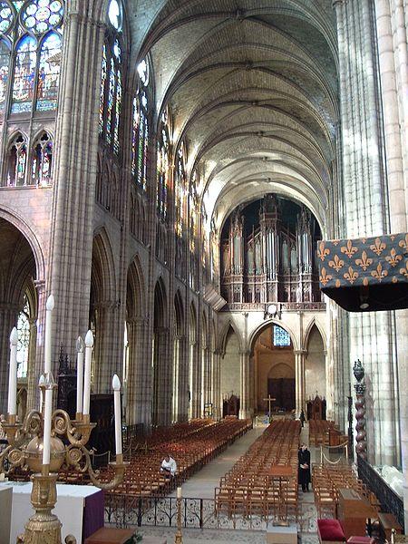nawa bazyliki Saint Denis