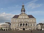 Stadhuis, gebouwd in de jaren 1659-1664 door Pieter Post