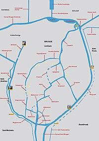 Stadspoorten en waterlopen Brugge.jpg