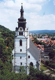 Rudolstadt Town in Thuringia, Germany