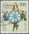 Stamp Germany 1995 Briefmarke Carl Orff.jpg