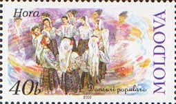 Stamp of Moldova md423