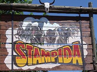 Stampida - Image: Stampida Port Aventura