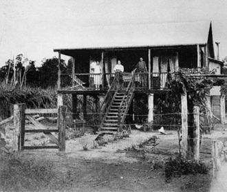 El Arish, Queensland - Soldiers settlement home at El Arish, around 1920