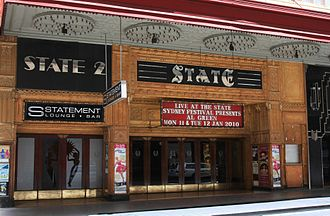 State Theatre (Sydney) - Facade from Market Street