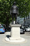 Statue of General Wladyslaw Sikorski in the Portland Place in London, June 2013 (5).jpg