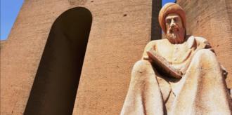 Ibn al-Mustawfi - Statue of Ibn Al-Mustawfi in Erbil Iraq
