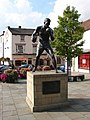 Statue of Randy Turpin in Warwick Square - geograph.org.uk - 319932.jpg