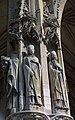 Statues des saints Denis, Marcel et Germain (de gauche à droite), évêques de Paris, à Saint-Germain-lAuxerrois.jpg
