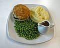 Steak and ale pie at Sainsbury's Low Hall, Chingford, London 2 focus 2.jpg