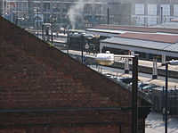 Steam train departing York station (3).JPG