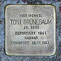 Stolperst koelner strasse 71 gruenebaum toni.jpg