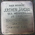 Stolperstein Ahaus Coesfelder Straße 53 Julchen Jakobs.jpg