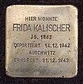 Stolperstein Am Bahnhof Grunewald 10 (Grune) Frida Kalischer.jpg